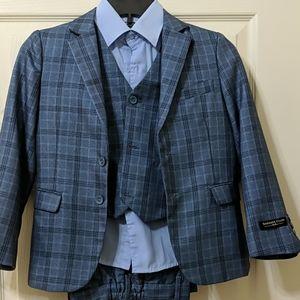Boys 4 piece suit